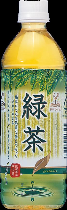 神戸居留地 緑茶 500ml