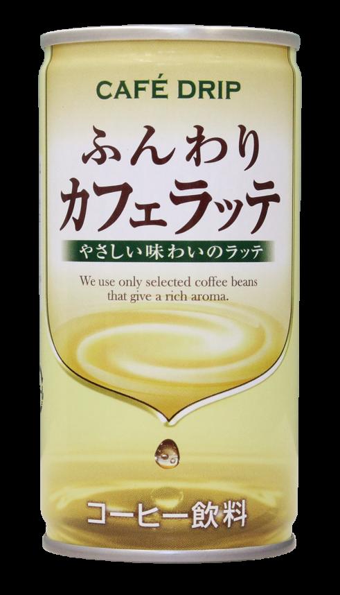 CAFE DRIP ふんわりカフェラッテ 185g