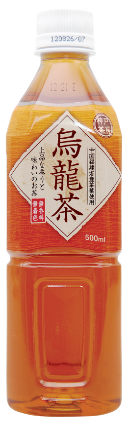 神戸茶房 烏龍茶 500ml
