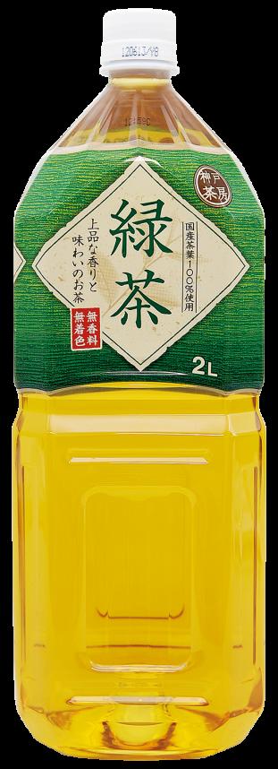 神戸茶房 緑茶 2L