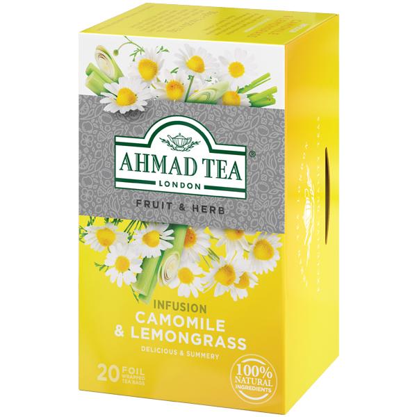 アーマッドティー カモミール&レモングラス ティーバッグ 20袋