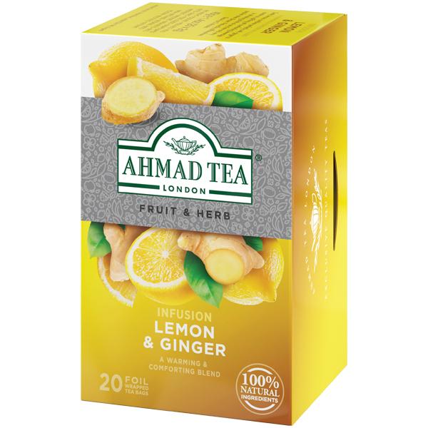 アーマッドティー レモン&ジンジャー ティーバッグ 20袋