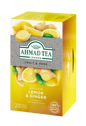 レモン&ジンジャー ティーバッグ 20袋