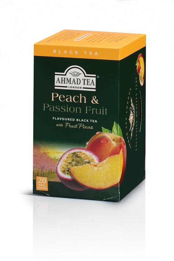 アーマッドティー ピーチ&パッションフルーツ ティーバッグ 20袋