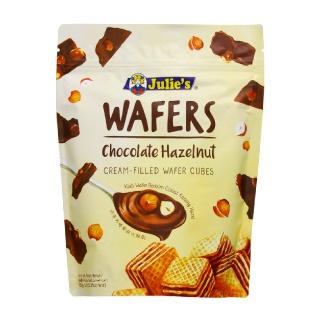 ジュリーズ キューブウエハース ヘーゼルナッツチョコレート 150g