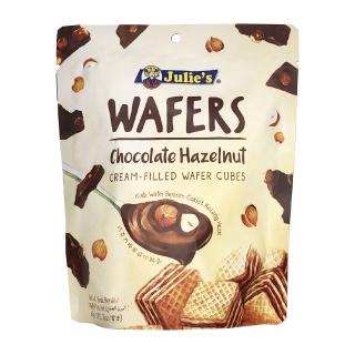 ジュリーズ キューブウエハース ヘーゼルナッツチョコレート 60g